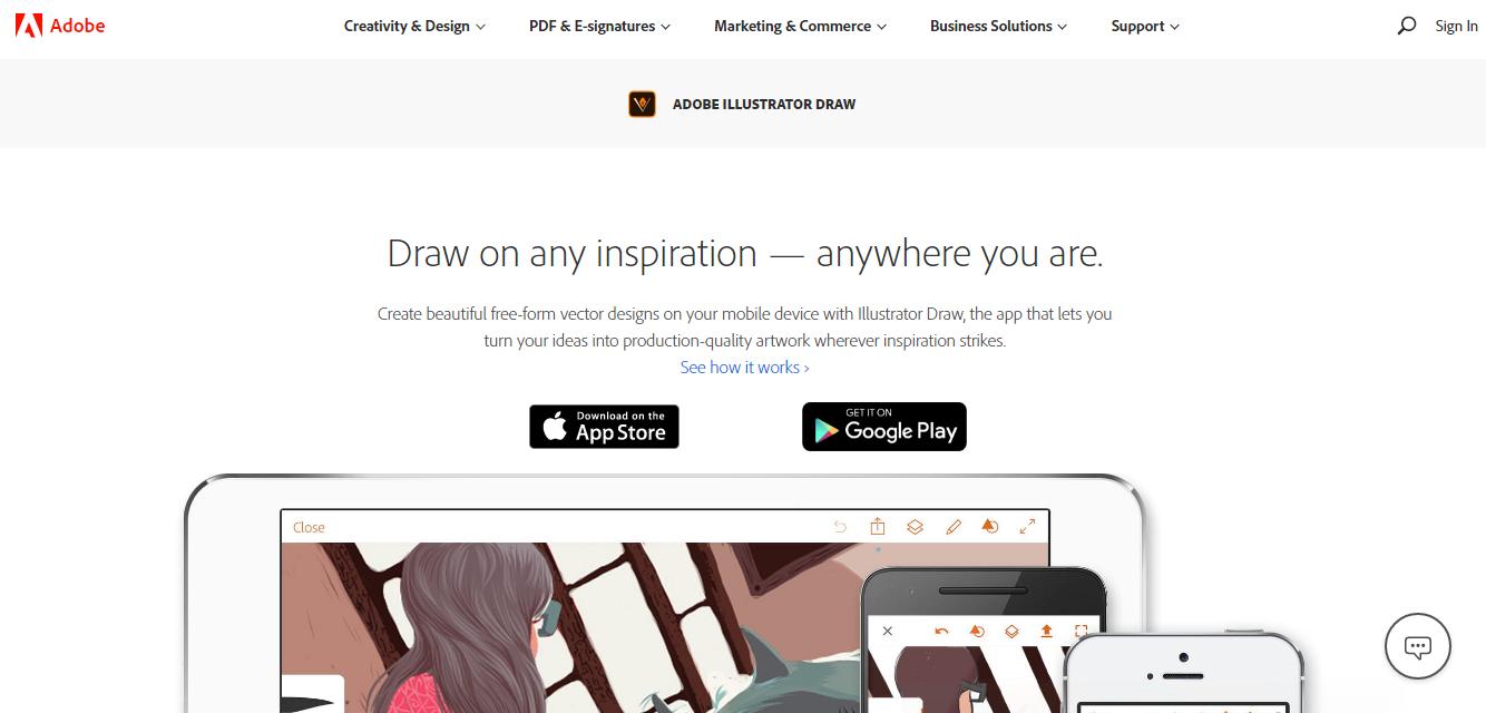 Adobe Illustrator Drawing